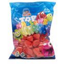 Top Mallows Rojos Marshmallows TOP CANDY 1 kg