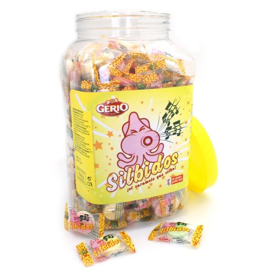 Silbidos Caramelo comprimido GERIO 640 Gr