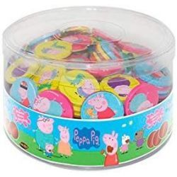 Monedas Chocolate PEPPA PIG  238 Unid