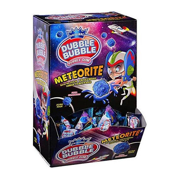 DUBBLE BUBBLE chicle Pintalenguas  METEORITE 200 unidades