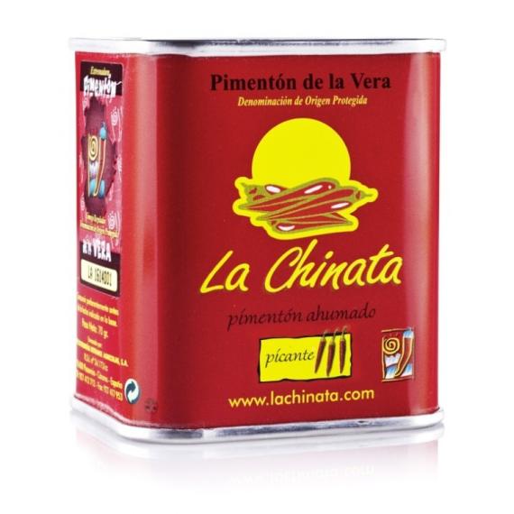 """Lata Picante 70 gr. Pimentón Ahumado """"La Chinata"""""""