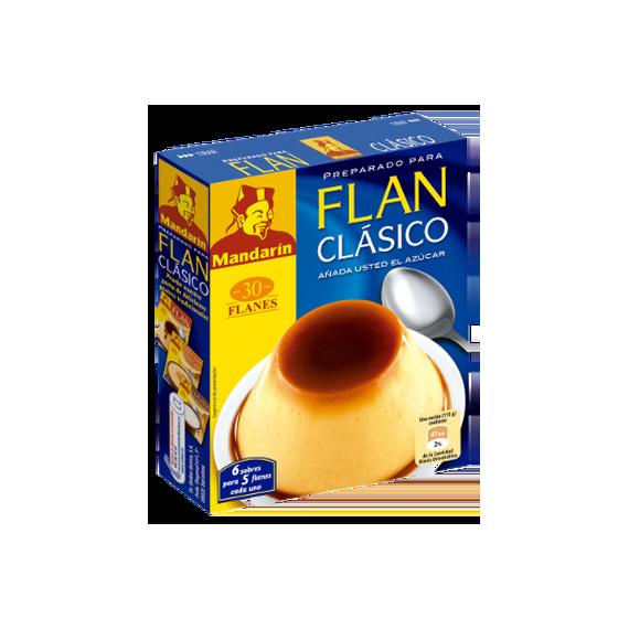 Flan Clásico Mandarín 30 Flanes