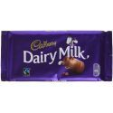Cadbury Dairy Milk Tableta 200 Gramos