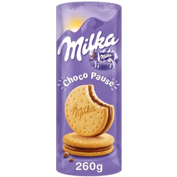 Galletas Choco Pause MILKA 260 Gr