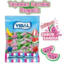 Tajadas Sandía Regaliz VIDAL 250 Unid