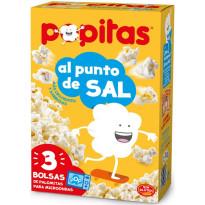 Popitas AL PUNTO DE SAL Pack 3 Unid