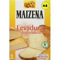 Levadura de Panadería Seca  MAIZENA Pack de 4 * 27,5 Gramos