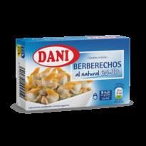 Berberechos Al Natural 65-UP DANI 111 Gr