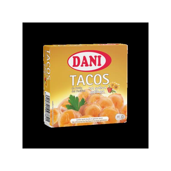 Tacos de Potón del Pacífico en Salsa Gallega  DANI 111 Gr