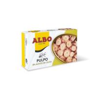 Pulpo en Aceite de Oliva  ALBO  116 Gr
