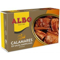 Calamares en Salsa americana  ALBO  112 Gr