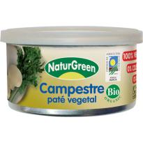 Paté Vegetal CAMPESTRE NATRUGREEN  125 Gramos