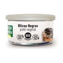 Paté Vegetal OLIVAS NEGRAS NATRUGREEN  125 Gramos