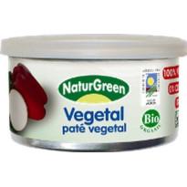 Paté Vegetal VEGETAL NATRUGREEN  125 Gramos