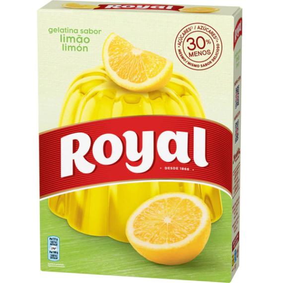 Royal Gelatina Limón - 114 Gramos
