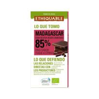 Chocolate Negro 85 % Ecólogico ETHIQUABLE 100 Gramos