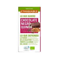 Chocolate Negro Quinoa Ecólogico ETHIQUABLE 100 Gramos