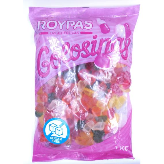 Frutitas Brillo Sin Azúcar  ROYPAS 1 Kg