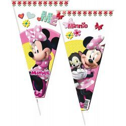 Bolsa Cono Rellenable DISNEY MINNIE 10 Unid