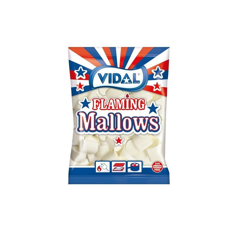 Dulcinubes Mallows Flaming Especial Barbacoa  VIDAL 1 kg