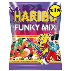 Funky Mix   HARIBO  Pack 18*100 Gr