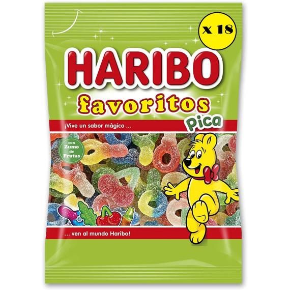Favoritos Pica   HARIBO  Pack 18*90 Gr
