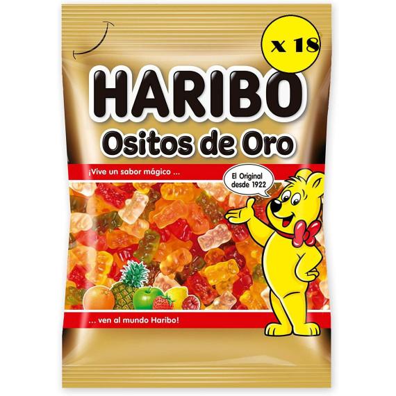 Ositos Oro HARIBO  Pack 18*100 Gr