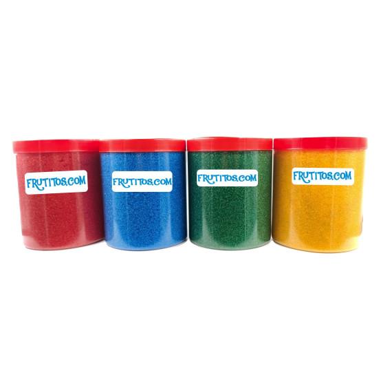 Azúcar para Palomitas Pack 4 colores