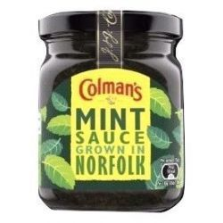 Salsa Menta Mint Sauce COLMAN´S 165 Gramos