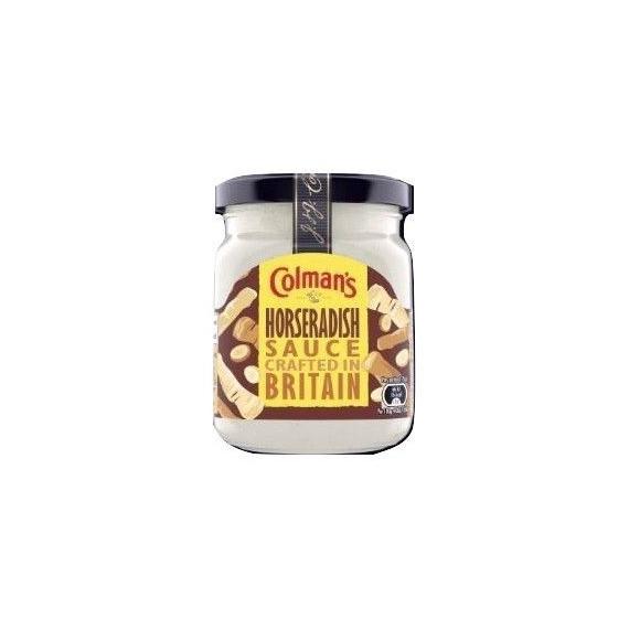 Salsa Rábano Picante Horseradish  Sauce COLMAN´S 136 Gramos