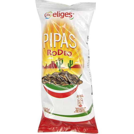 Pipas girasol Rodeo sabor barbacoa picante - 200gr