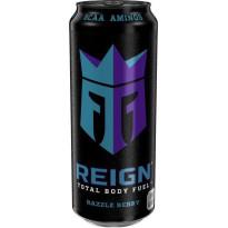 REING Bebida Energética RAZZLE BERRY  - Sabor FRAMBUESA - 500 ML