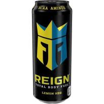 REING Bebida Energética LEMON HDZ  - Sabor LIMÓN - 500 ML
