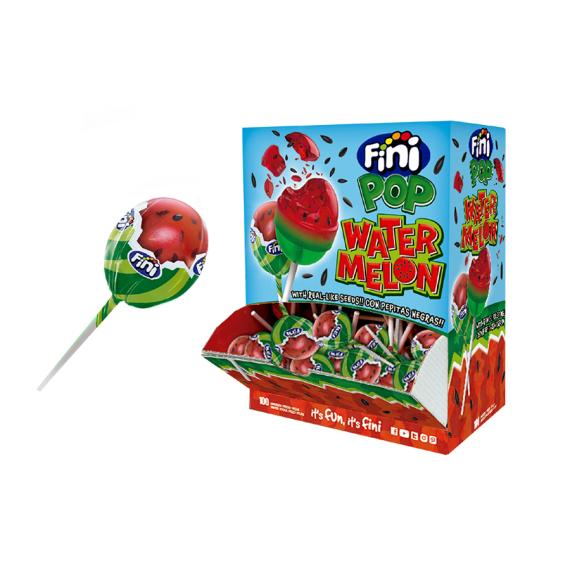 FINI Pop Sandía Watermelon 100 Unidades