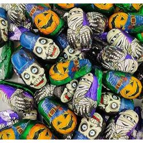 Figuras Chocolate Halloween Calabaza Esqueleto Momia SORINI 500 Gr