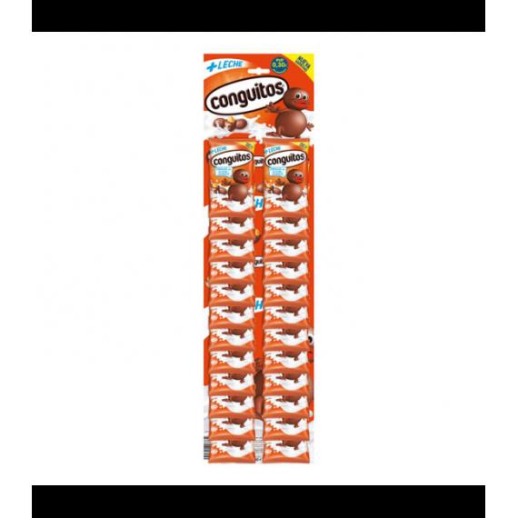 Bolsitas Conguitos de chocolate con Leche Panoplia 24 Unid