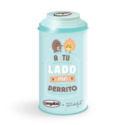 Conguitos Lata Mr Wonderful Azul 90 Gramos