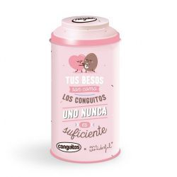 Conguitos Lata Mr Wonderful Rosa 90 Gramos