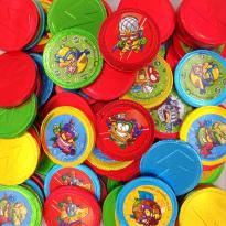 SUPER ZINGS  Monedas de Chocolate con Leche 1 Kg