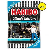 Black Edition Surtido Regaliz Negro  HARIBO  Pack 18*100 Gr
