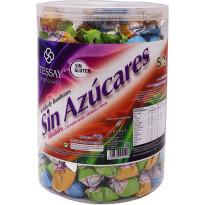 Bote Bombones Sin Azúcar con Stevia 1,5 Kg