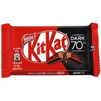 Kit Kat Chocolate Negro 70% NESTLÉ 24 Unid