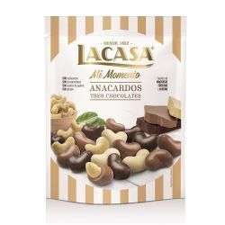 Anacardos Tres Chocolates Mi Momento LACASA 115 Gramos