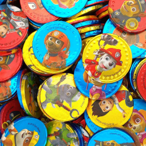 PATRULLA CANINA  Monedas de Chocolate con Leche 1 Kg