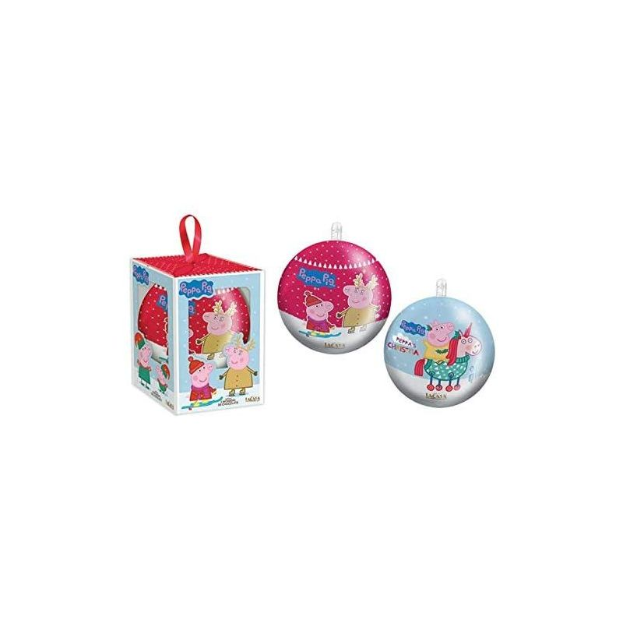 Bola de Navidad con Monedas Chocolate PEPPA PIG  1 Unid