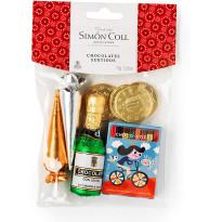 Bolsa Surtida Chocolates Navidad SIMON&COLL 72 Gr
