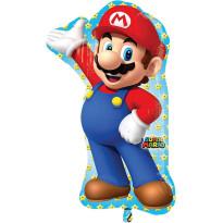 SUPER MARIO  Nintendo  Globo Metálico