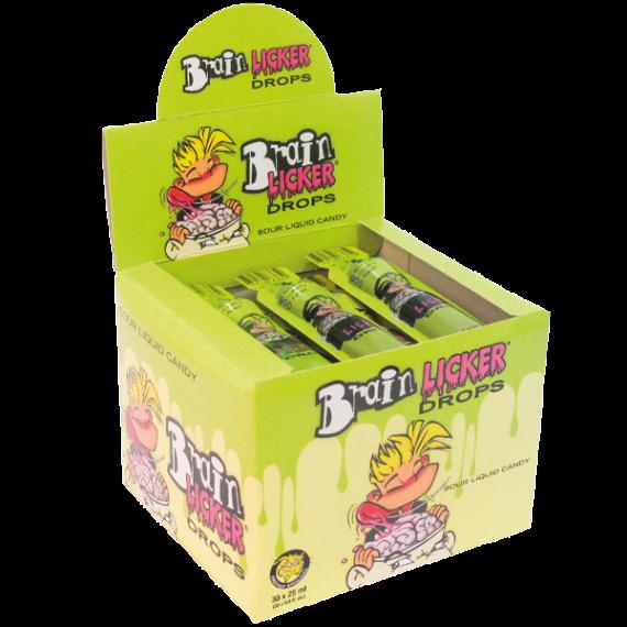 Brain Licker Drops Caramelo Líquido  FREEKEE CANDIES 30 unidades