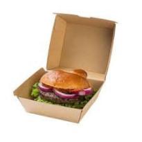 Envase Hamburguesa Cartón 50 Unid