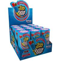 PUSH POP Triple Power Bazooka Caramelo duro en stick  12 Unid